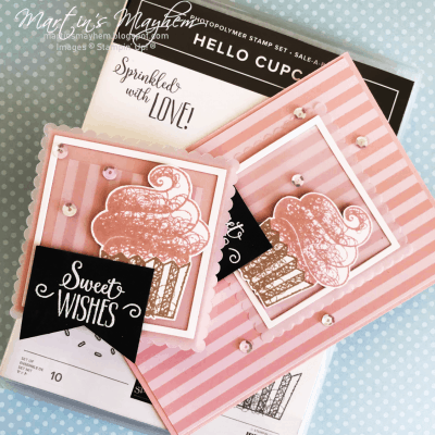 OSAT – Sweet Wishes – Stampin' Up Hello Cupcake Photopolymer Stamp Set