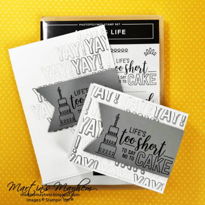 OSAT: Eat Cake – Amazing Life Stamp Set