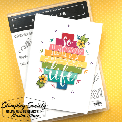 Stamping Society: In My Life – Stampin' Up! Amazing Life Stamp Set