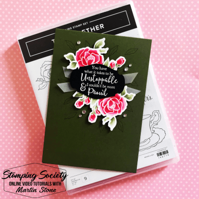 Stamping Society: Unstoppable – Stampin' Up! Tea Together Stamp Set