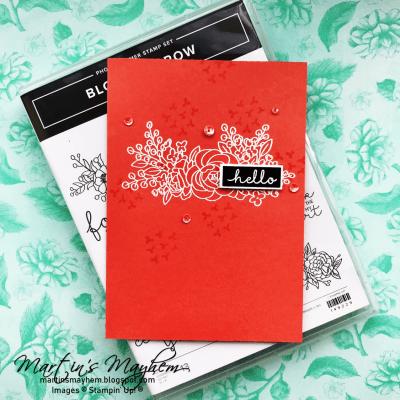 Hello – Stampin' Up! Bloom & Grow Stamp Set
