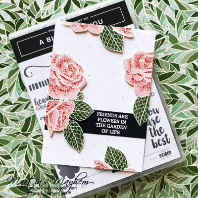 Garden of Life – Stampin' Up! A Big Thank You