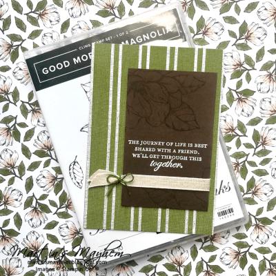 Together – Stampin' Up! Good Morning Magnolia Stamp Set