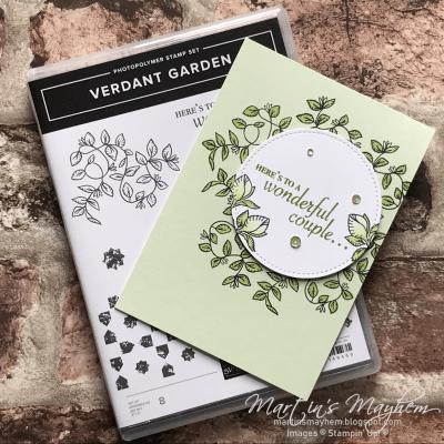 Here's To – Stampin' Up! Verdant Garden Stamp Set