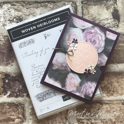 A Day Of Love – Stampin' Up! Woven Heirloom Stamp Set