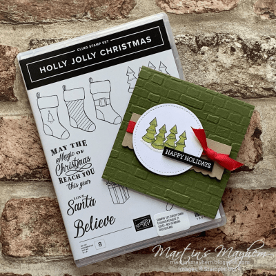 Happy Holidays – Stampin' Up! Holly Jolly Christmas Stamp Set