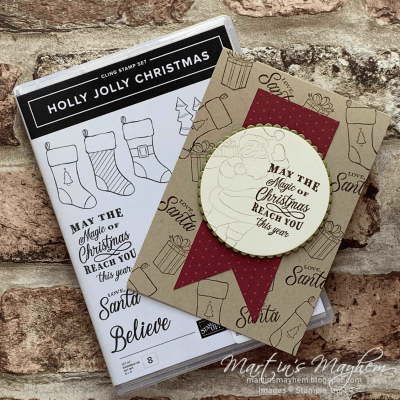 Magic of Christmas – Stampin' Up! Holly Jolly Christmas Stamp Set