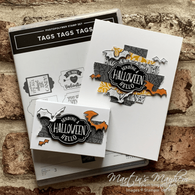 OSAT: Halloween Hello – Stampin' Up! Tags Tags Tags Stamp Set