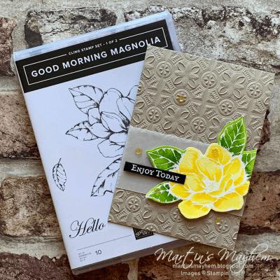 Stamping Society: Enjoy Today – Stampin' Up! Good Morning Magnolia Stamp Set