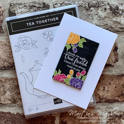 TGCDT: True Friend – Stampin' Up! Tea Together Stamp Set