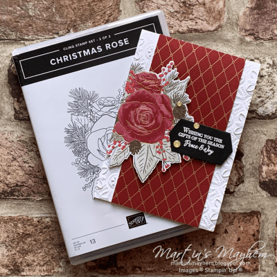 Peace & Joy – Stampin' Up! Christmas Rose Stamp Set