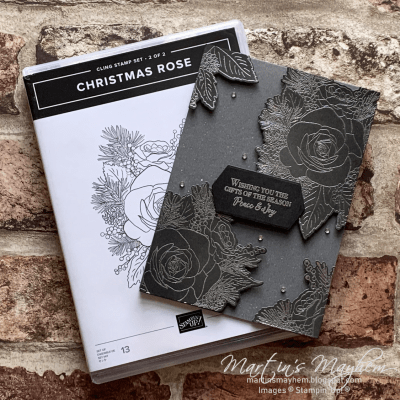 TGCDT: Gifts of the Season – Stampin' Up! Christmas Rose Stamp Set