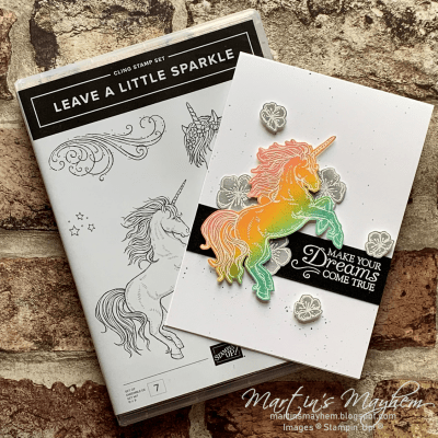 Creation Station: Dreams Come True – Stampin' Up! Leave A Little Sparkle Stamp Set