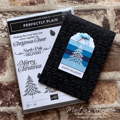 Happy Holidays – Stampin' Up! Perfectly Plaid Stamp Set