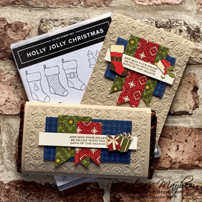Stamping Sunday: Love of the Season – Stampin' Up! Holly Jolly Christmas Stamp Set
