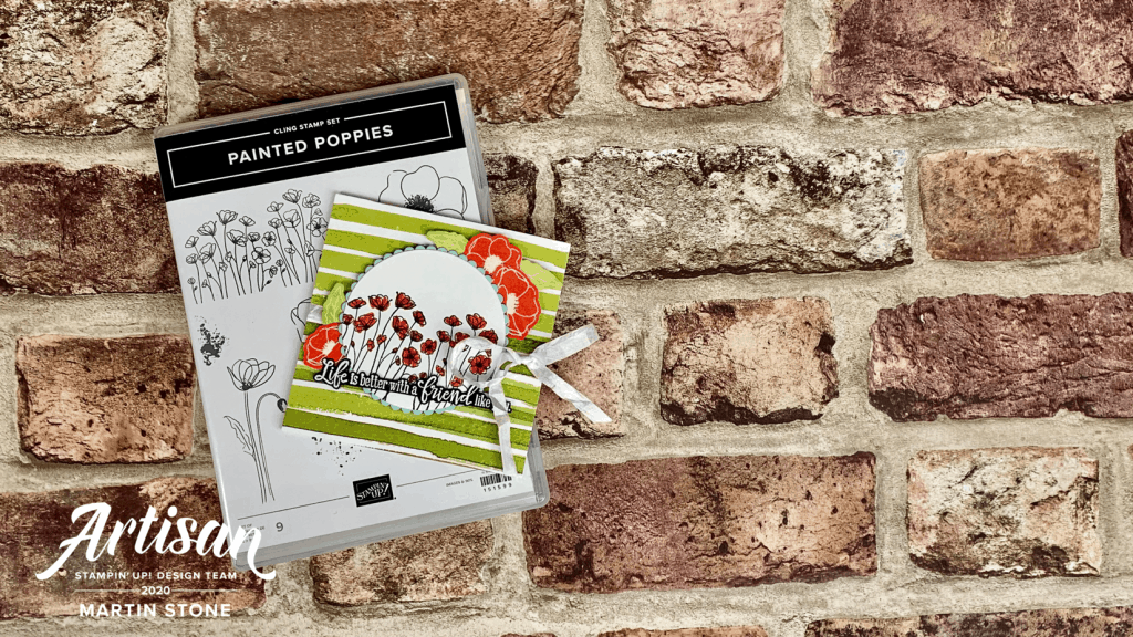 Painted Poppies Friendship Card
