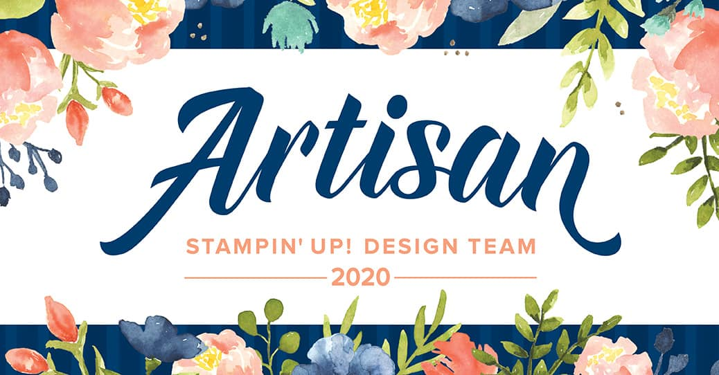 Stampin' Up! artisan design team member badge