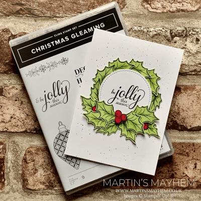 TGCDT: Jolly This Season – Stampin' Up! Christmas Gleaming Stamp Set