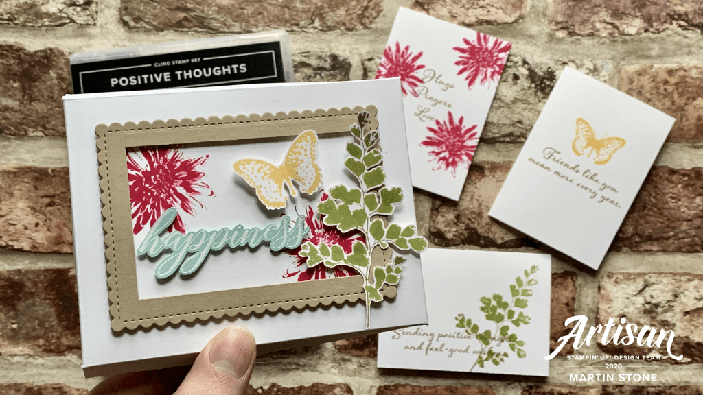 Positive Thoughts Stamp Set