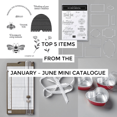 January – June Mini Catalogue & Sale-A-Bration