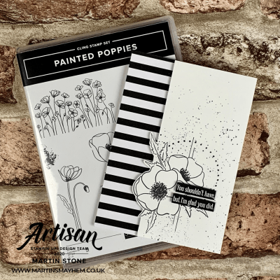 Stampin' Up! Painted Poppies Stamp Set