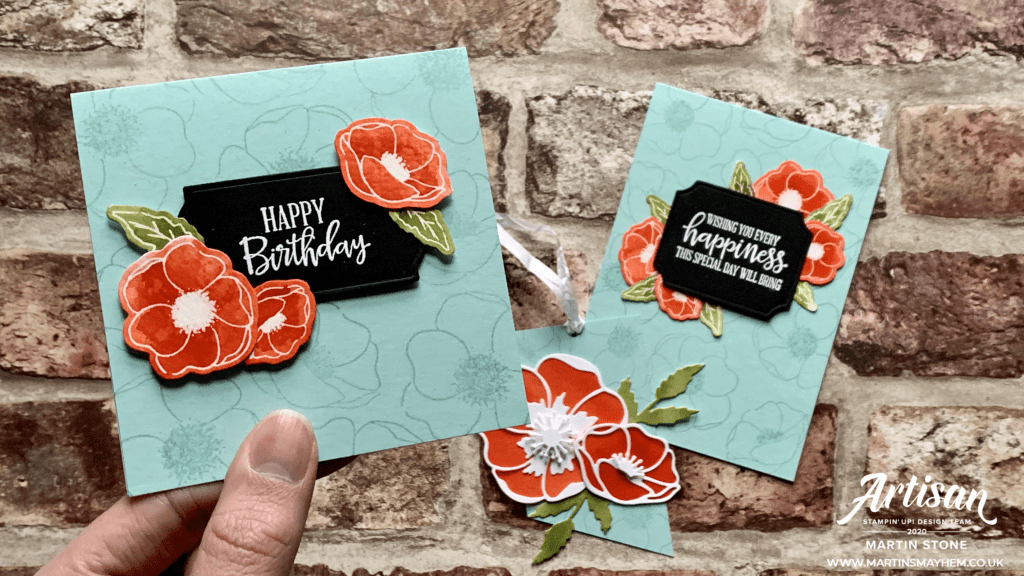 Stampin Up Peaceful Poppies Suite