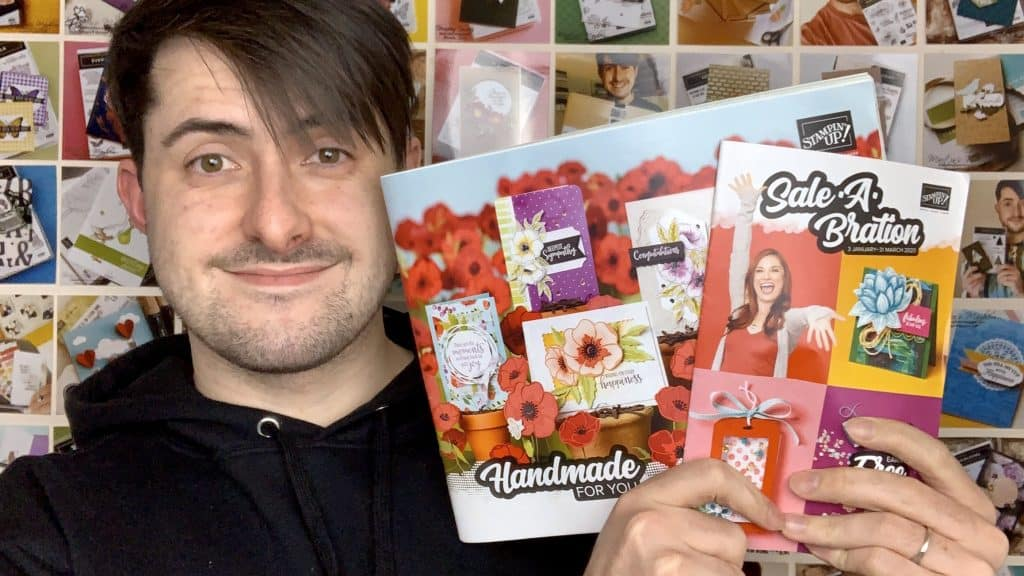 Stampin up January - June Mini Catalogue