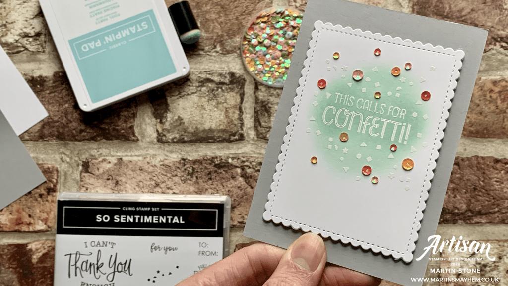 So Sentimental Stamp Set