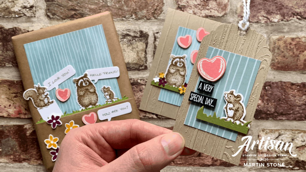 Animal Friendship Card using the Special Someone Stamp Set