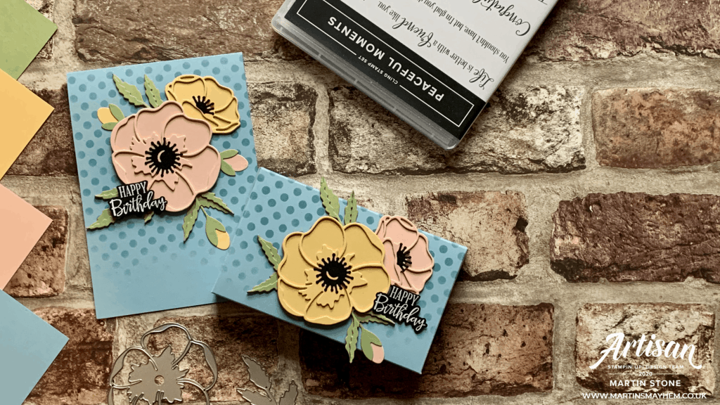 Stampin' Up! Poppy Moments Dies