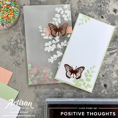 Creation Station: Stampin' Up! Positive Thoughts Stamp Set