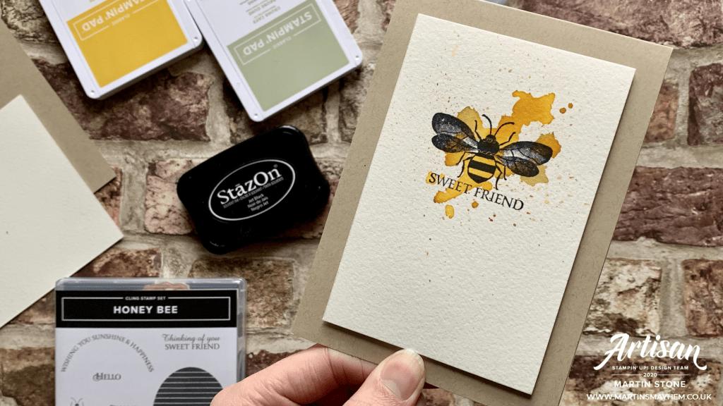 Honey Bee Stamp