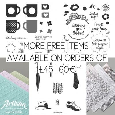 Stampin' Up! Sale-A-Bration Second Release