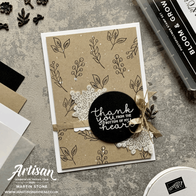 Stampin' Up! Bloom & Grow Stamp Set