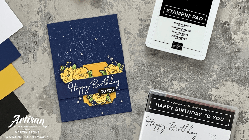 Happy Birthday To You Stamp Set