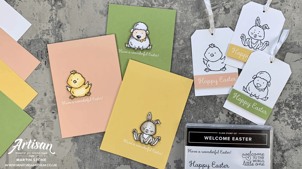 Welcome Easter Stamp Set