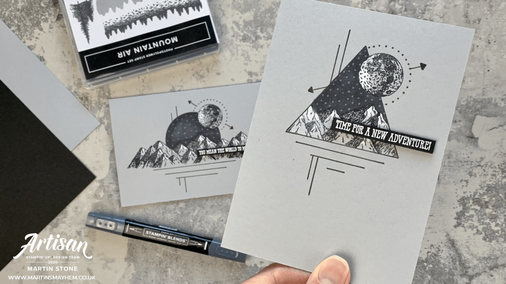 Mountain Air Stamp Set