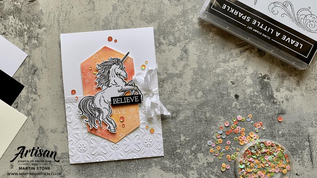 Leave a Little Sparkle Stamp Set