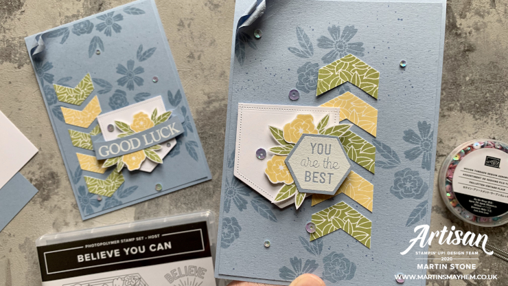 Believe You Can Stamp Set
