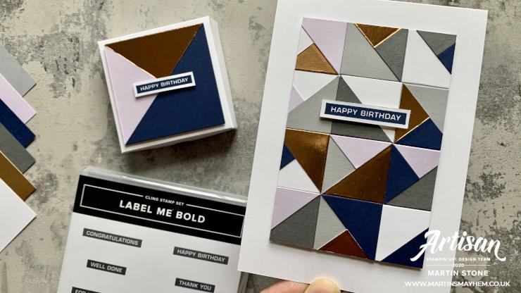 Label Me Bold Stamp Set