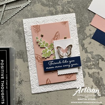 Creation Station – Stampin' Up! Positive Thoughts Stamp Set