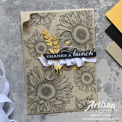 TGCDT – Stampin' Up! Celebrate Sunflowers Stamp Set
