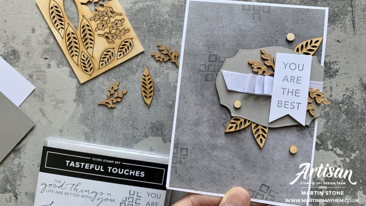 Tasteful Touches Stamp Set