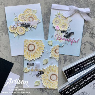 Stampin' Up! Artisan Design Team Blog Hop – Flowers for Every Season Suite