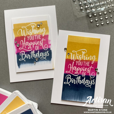 Creation Station – Stampin' Up! Happiest of Birthdays Stamp Set