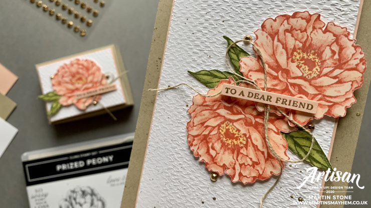 Prized Peony Stamp Set