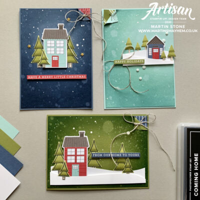 Stampin' Up! Artisan Design Team Blog Hop – Trimming the Town Suite