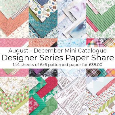Mini Catalogue Designer Series Paper Share