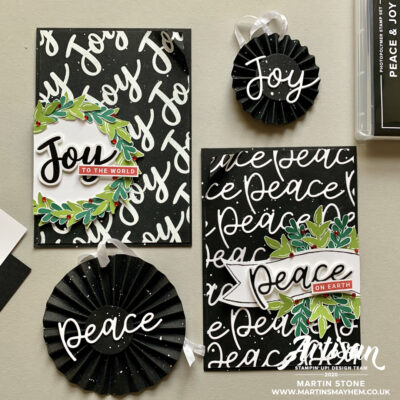 Stampin' Up! Artisan Design Team Blog Hop – Peace & Joy Bundle