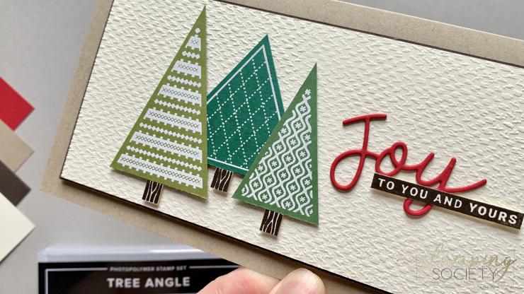Tree Angle Stamp Set